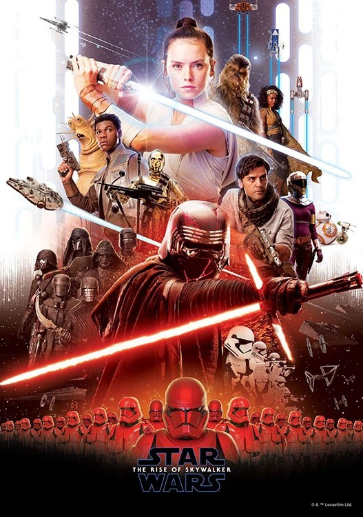 Póster final de Star Wars: El ascenso de Skywalker (2019)