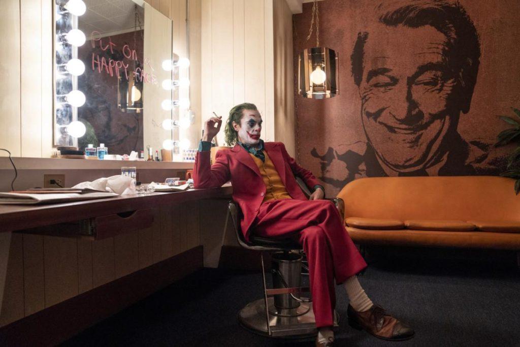 El Joker preparándose para la última función
