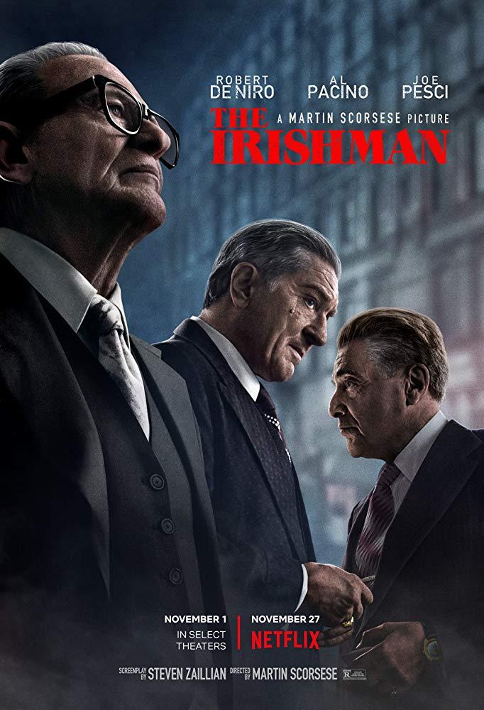 Cartel de 'El irlandés' (2019)