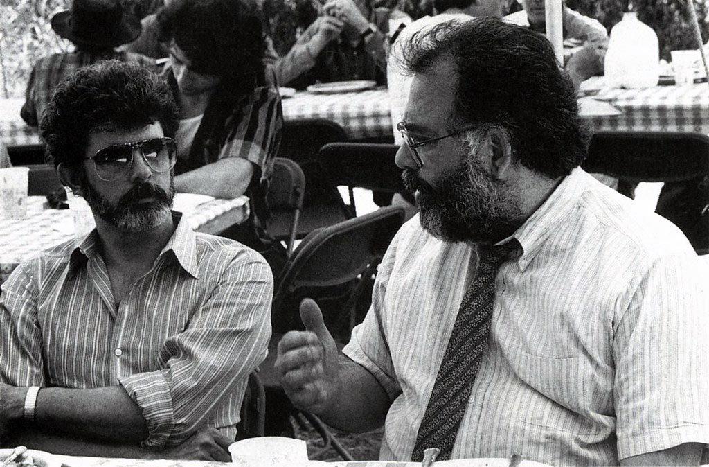George Lucas y Francis Coppola