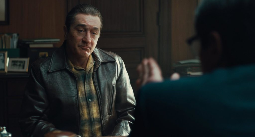 Robert De Niro en The Irishman (2019)