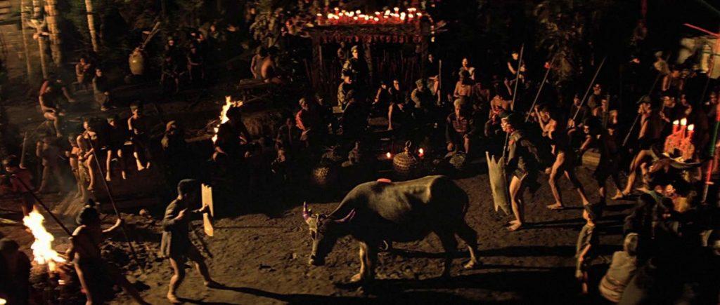 Escena del búfalo en Apocalypse Now (1979)
