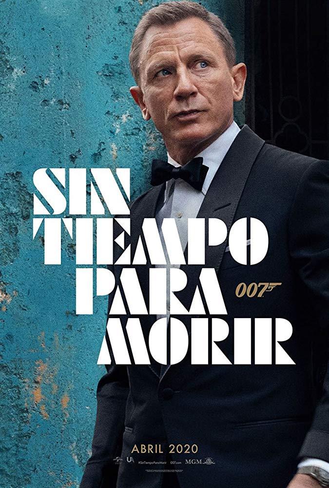 Cartel de Daniel Craig de 'Sin tiempo para morir'