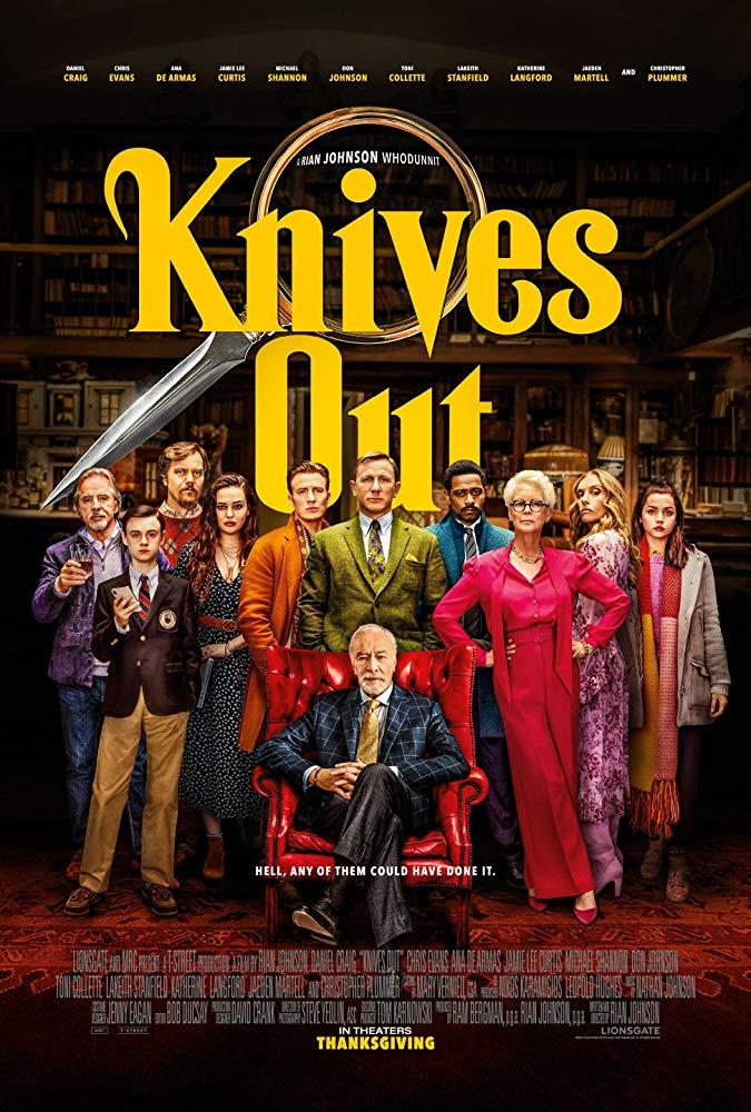 Cartel de 'Knives Out'