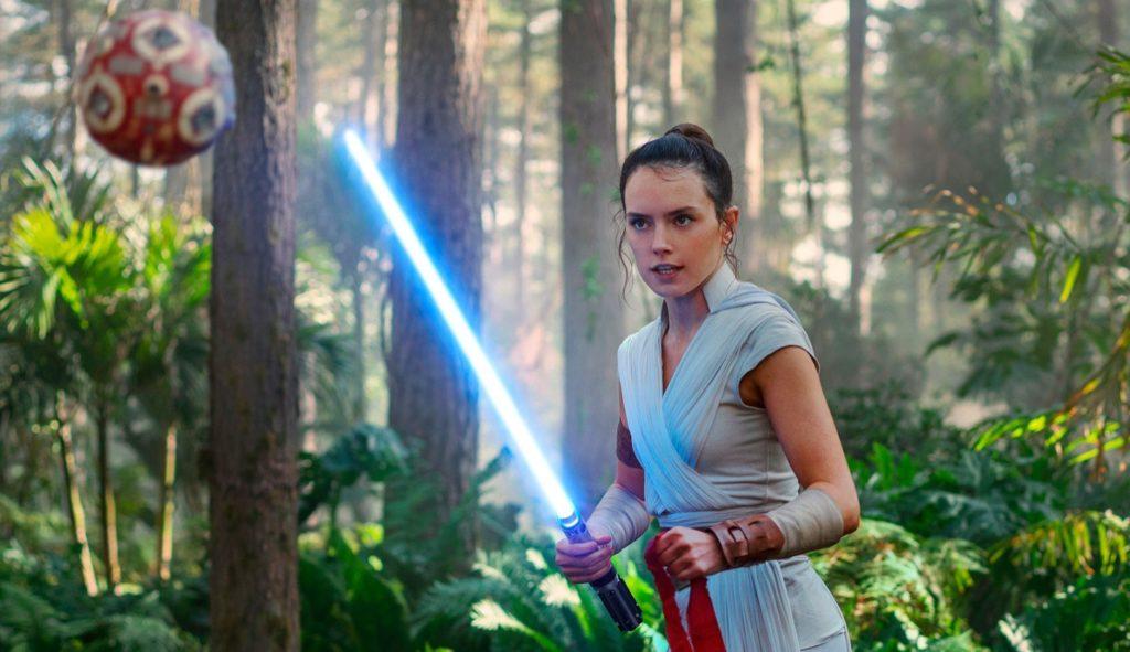 Daisy Ridley en 'El ascenso de Skywalker'