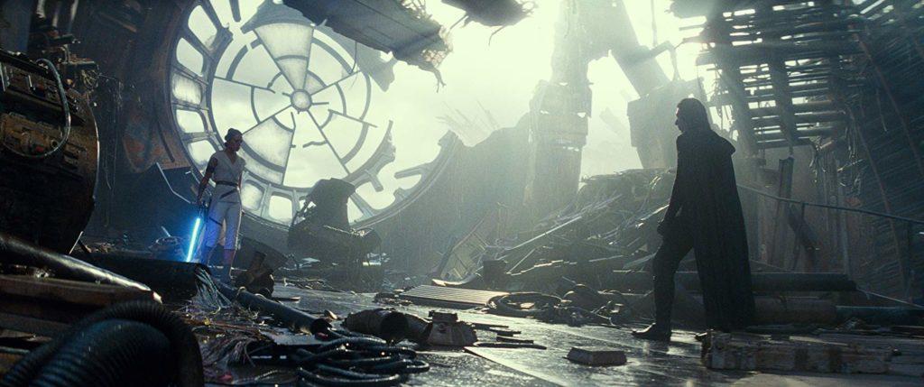 Adam Driver y Daisy Ridley en 'El ascenso de Skywalker'