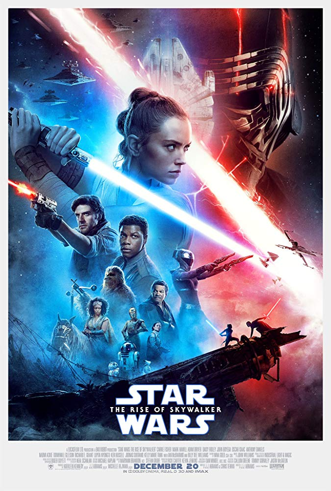 Cartel de 'Star Wars: el ascenso de Skywalker' (2019)