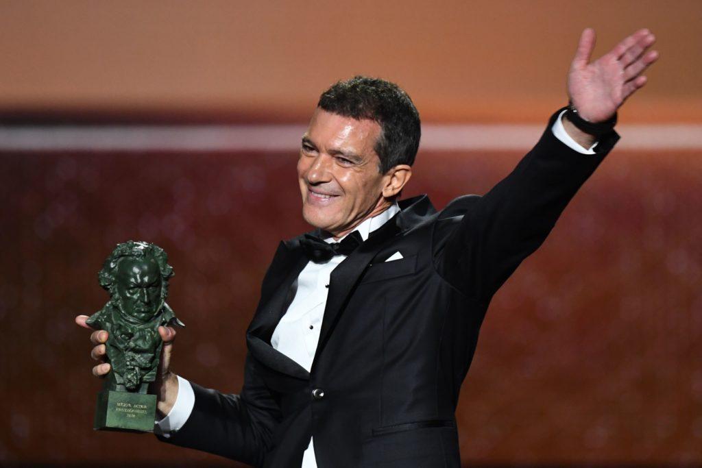 Antonio Banderas recoge su Goya a mejor actor principal