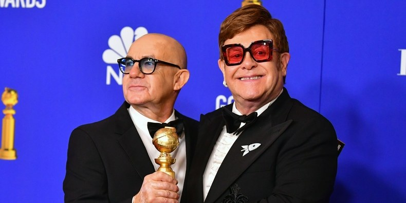 Bernie Taupin y Elton John