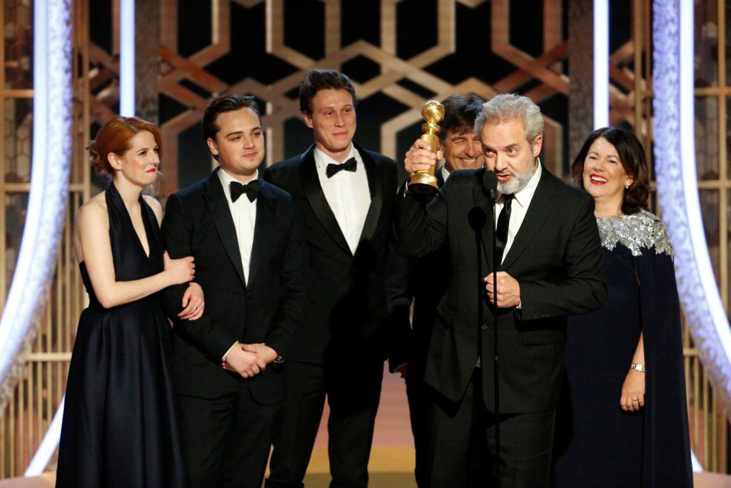 Sam Mendes recoge el Globo de oro por '1917'