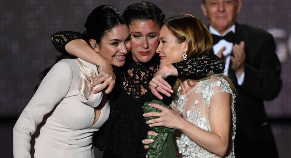 Celia, Tamara y Maria, las hijas de Pepa Flores.
