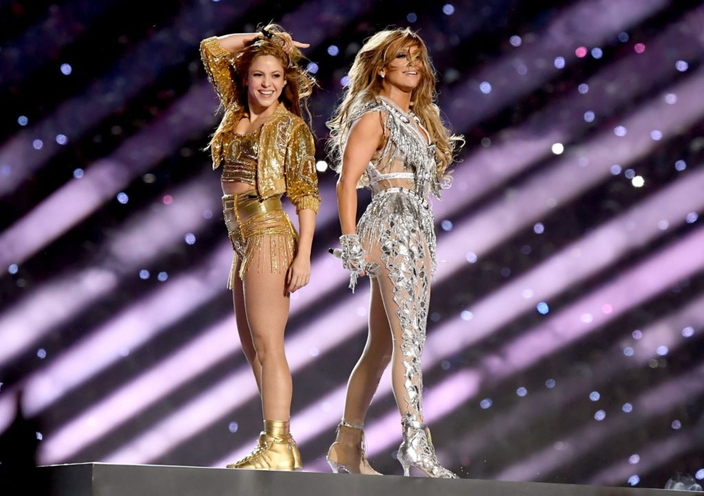 Shakira y Jennifer López Super Bowl (2020)