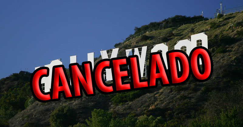 Cartel de Hollywood cancelado