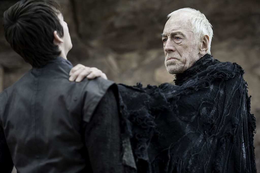 Max von Sydow and Isaac Hempstead Wright in Game of Thrones (2011)