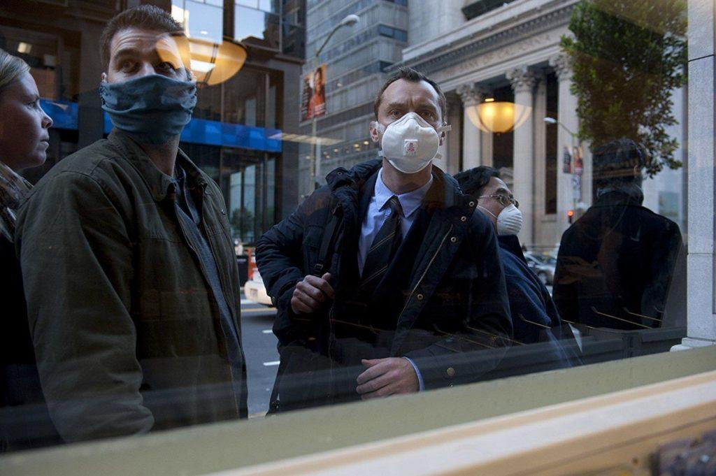 contagion Jude Law
