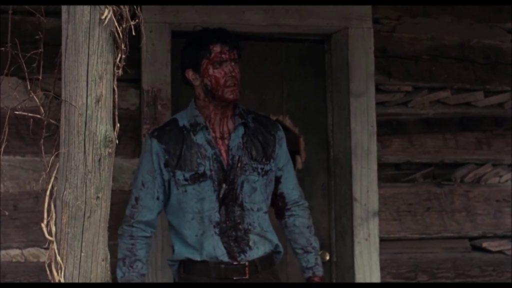 Bruce Campbell, protagonista de Posesión Infernal (Evil Dead9, de Saim Raimi