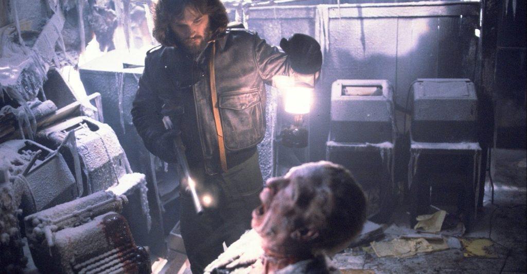 Kurt Russell en La cosa de John Carpenter