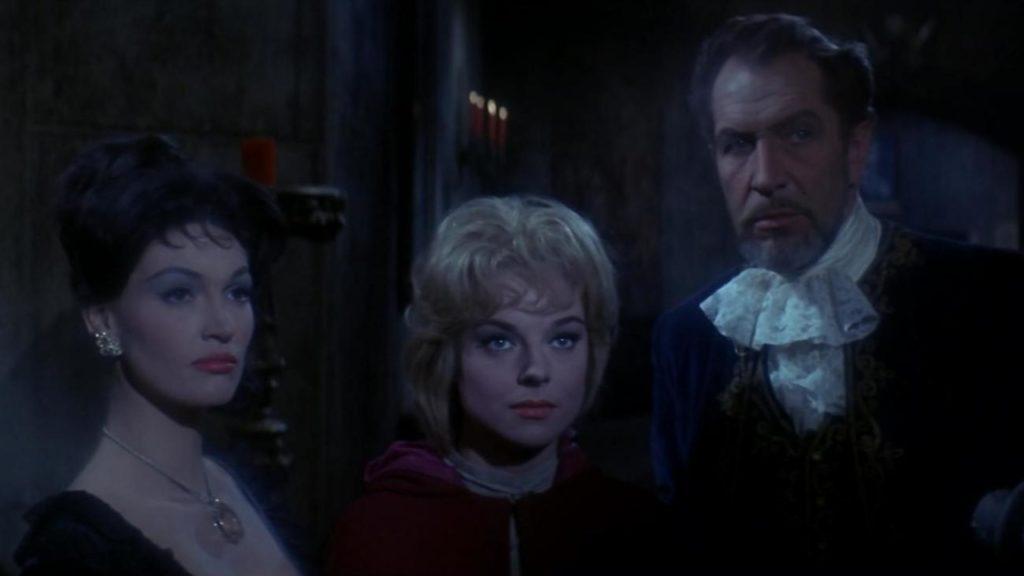 Reparto de la película The Haunted Palace, de Roger Corman