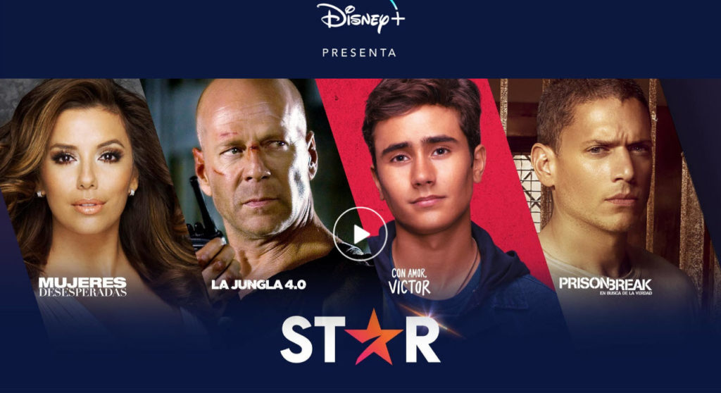 STAR Disney plus