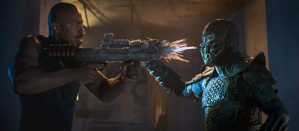 Mehcad Brooks y Joe Taslim en Mortal Kombat (2021)